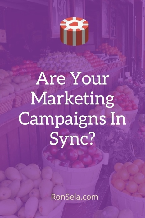 Are Your Marketing Campaigns In Sync? | Content Marketing Strategy | Scoop.it