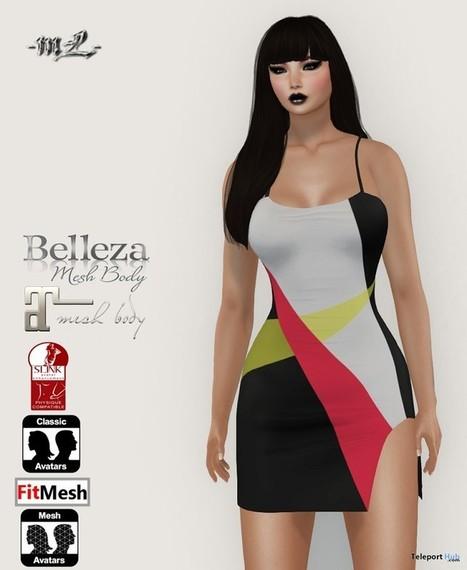 Amber Dress Group Gift by monaLISA | Teleport Hub - Second Life Freebies | Second Life Freebies | Scoop.it