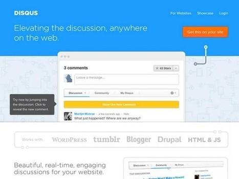Disqus 2012 est disponible pour tous ! | Time to Learn | Scoop.it