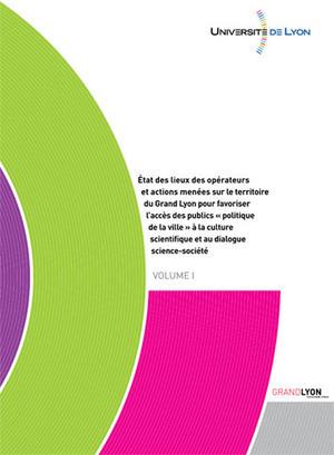 """Publication des résultats de l'Etude """"Culture scientifique et politique de la ville"""" - Universite de Lyon   échec en licence   Scoop.it"""