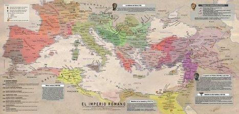 TRÍPTICO DESPLEGABLE: EL IMPERIO ROMANO EN EL S. II | LVDVS CHIRONIS 3.0 | Scoop.it