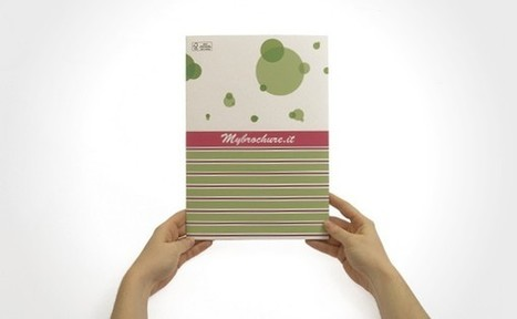 Stampa cartelline fustellate: doppiamente » My Brochure | Stampa cartelline personalizzate | Scoop.it