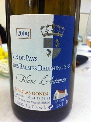 La Cave à JP: Vin de Pays des Balmes dauphinoises Blance 2009 ...   oenologie en pays viennois   Scoop.it
