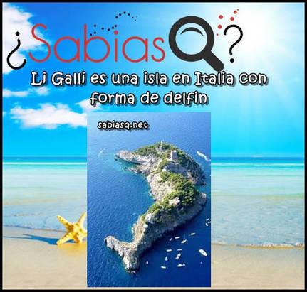 Sabias Q: Li Galli es una isla de italia con forma de delfin | Descargas Juegos y Peliculas | Scoop.it