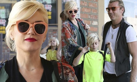 Heavily pregnant Gwen Stefani pops into acupuncture clinic with husband Gavin and their two boys in tow   Acupuncture in pregnancy and childbirth   Scoop.it