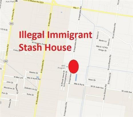 "131 illegal immigrants found inside Alton stash house--but now they are just ""undocumented"" trespassers 