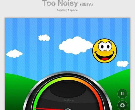 Free Technology for Teachers: Too Noisy - Give Your Students Visual Feedback on Noise in Your Classroom | Edtech PK-12 | Scoop.it