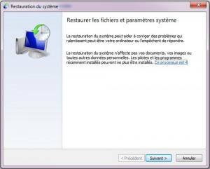 Comment faire La restauration du système Windows 7 ? | Cours Informatique | Scoop.it