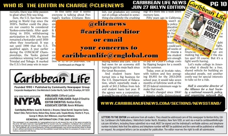 @Clifenews - Who is the #caribbeaneditor in charge at Caribbean Life News and why it matters? | Brooklyn By Design | Scoop.it