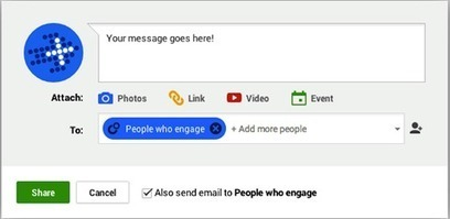 How to Encourage Google+ Fans to Share Your Content | Content Marketing | Scoop.it