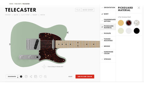 Fender's Mod Shop: Build Your Own Guitar - Design Milk | CLOVER ENTERPRISES ''THE ENTERTAINMENT OF CHOICE'' | Scoop.it