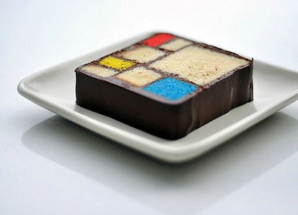 [Food Attraction] Le 'Modern Art' Dessert | Art Museums Trends | Scoop.it