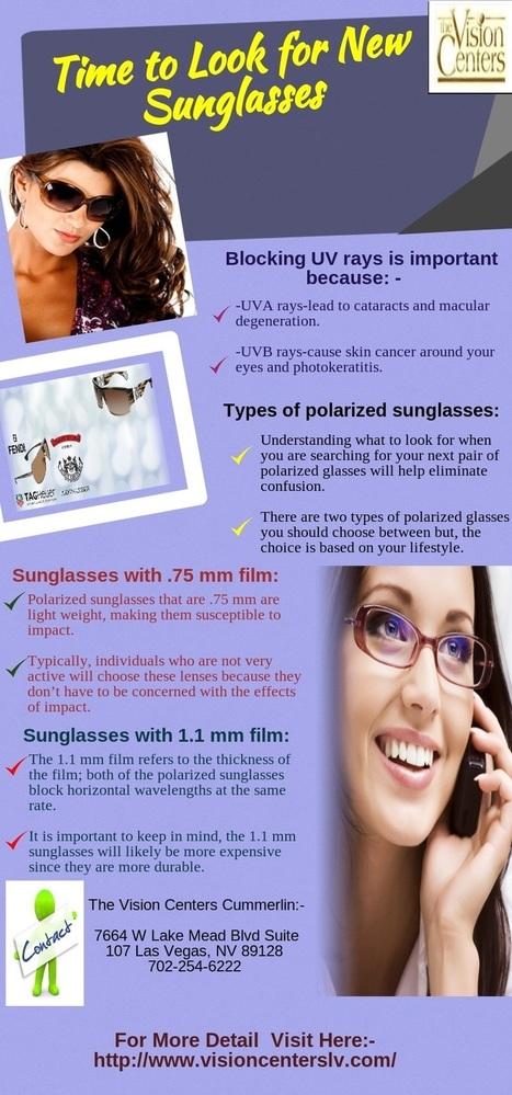 Many people choose their next pair of sunglasses as a mea... by Dixon Ramos | vision center | Scoop.it