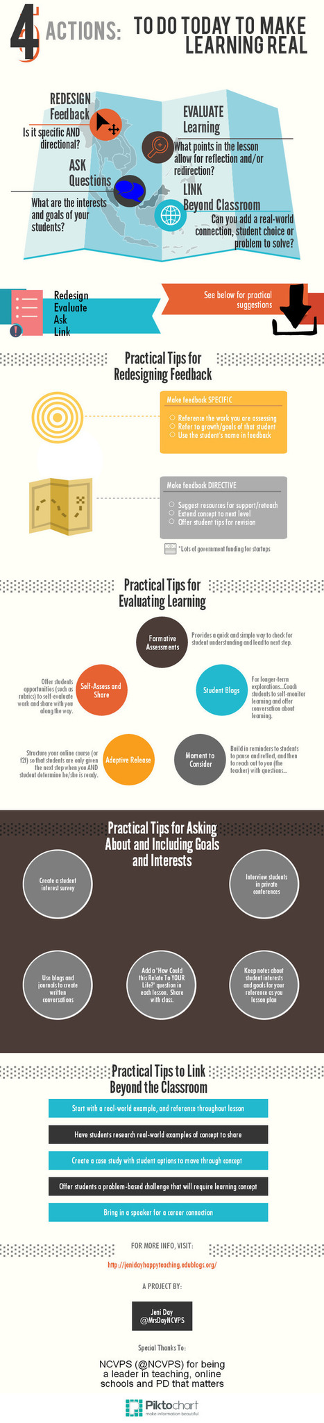 4 Steps to Real Learning - Infographic | Actualiser la pédagogie | Scoop.it