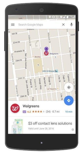 Google intégrera de la publicité au sein de Maps | GeoWeb OpenSource | Scoop.it