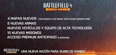 Battlefield 4: China Rising DLC map names leaked, Air Superiority mode to ... - VG247 | battlelog | Scoop.it