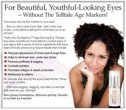 Eyelasticity Review - How Effective Is Age-Defying Eye Therapy? Find Out! | Helps you get younger looking skin | Scoop.it