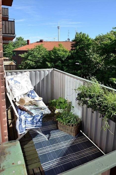 Small Apartment Balcony Garden | Home Design | Scoop.it