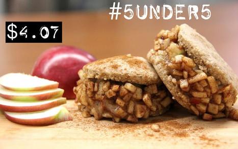 #5under5: Caramel Apple Pie Ice Cream Sandwiches [Vegan, No-Bake] | My Vegan recipes | Scoop.it