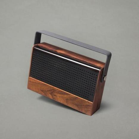 Retro-looking Kendall Speakers Adds A Touch Of Modernity With Bluetooth - Ubergizmo | Vintage and Retro Style | Scoop.it