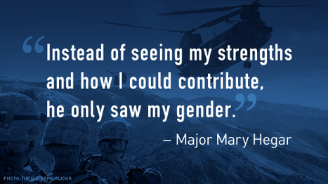 Women Warriors Are On the Battlefield. Eliminate the Outdated, Unfair Military Combat Exclusion Policy | Combat | Scoop.it