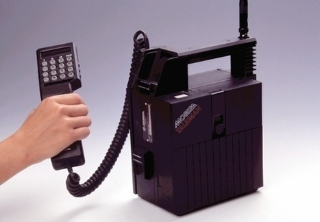 The Complete Evolution Of Cell Phones From 1956 To The First iPhone | Radio Show Contents | Scoop.it