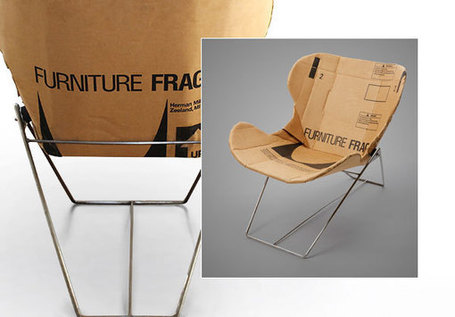 Re-Ply repurposed cardboard recliner by Dan Goldstein » Yanko Design | Social Mercor | Scoop.it