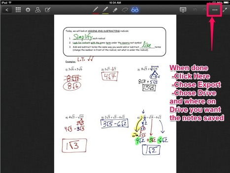 Google Drive Shared Folders: Making Annotated Notes Easy to Share | Ed Tech | Scoop.it