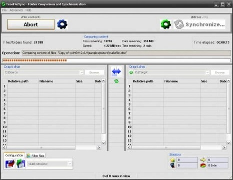 FreeFileSync, synchroniser et comparer des répertoires | Websourcing.fr | Time to Learn | Scoop.it