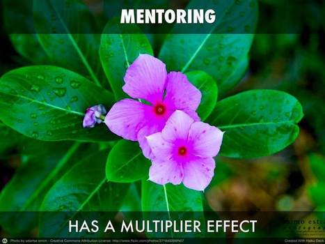 Mentoring Has A Multiplier Effect – Committed to mentoring excellence | Mentoring for Leadership Development | Scoop.it