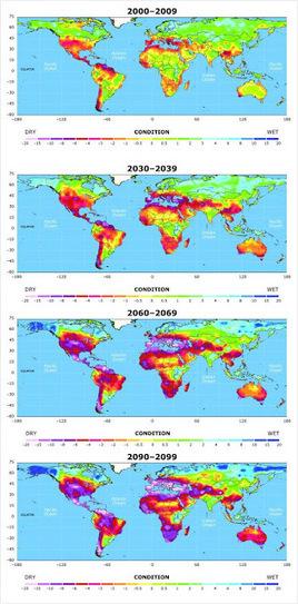 NATURA - MEDIO AMBIENTAL ©: Simulación computarizada: La inmensa mayoría del planeta sufrirá sequías | Infraestructura Sostenible | Scoop.it