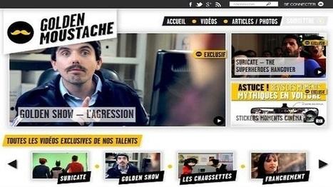 M6 se lance dans la production Web avec Golden Moustache - Les Échos   Média & Mutations digitales   Scoop.it