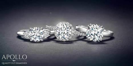 טבעת יהלום מושלמת לאירוע האירוסין שלך | אפולו יהלומים | Home theater | Scoop.it