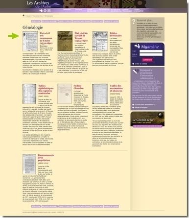 Les archives de l'Aube publient leur état civil - Le Blog Généalogie - Toute l'actualité de la généalogie - GeneaNet | Théo, Zoé, Léo et les autres... | Scoop.it
