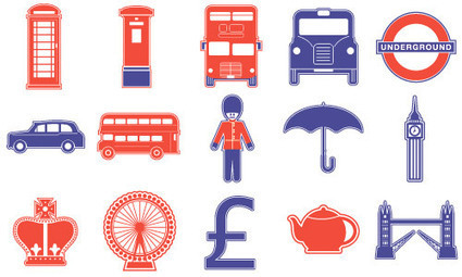 15 Free Vector London Icons | Design Sparks | Scoop.it