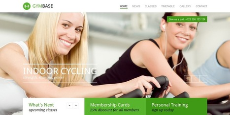 Best Fitness WordPress Themes 2014 | WordPress Theme | Scoop.it