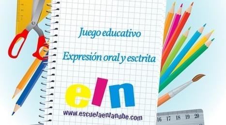 Juego educativo para estimular la expresión oral y escrita | Educació | Scoop.it