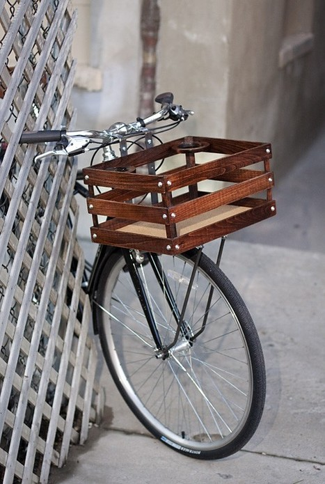 classic handmade wood porter crates for bicycles | Recreational cycling | Scoop.it