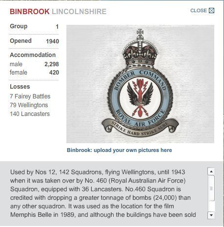 Second World War bomber command airfields - interactive map | 460 Squadron - Bomber Command: 1942-45 | Scoop.it
