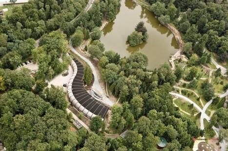 Centre culturel en colonne vertébrale, par RAU Architectes.   Architecture pour tous   Scoop.it