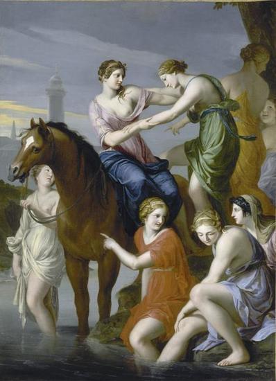 Rétrospective   Les Amis du musée des Augustins:Clélie passant le Tibre   Salvete discipuli   Scoop.it