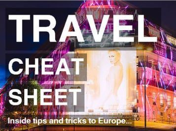 TRAVEL CHEAT SHEET - A Guide To European Cities | All Things Travel | Scoop.it