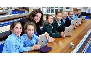 Apple's tablet at core of learning - This is Bristol | The School on the Tablet | Scoop.it