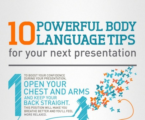 10 Great Body Language Tips for Your Next Presentation ~ Educational Technology and Mobile Learning   Ed Tech Professional Development   Scoop.it