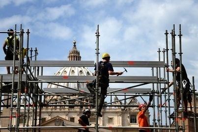 Rome s'apprête à affronter une marée humaine | La-Croix.com | Canonisation de Bx Jean-Paul II et Bx Jean XXIII | Scoop.it