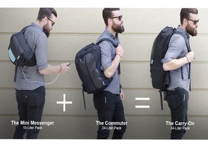 Le sac à dos qui recharge les gadgets nomades | Innovative technology | Scoop.it