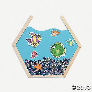 Craft Stick Aquarium fonty ber | κατασκευές | Scoop.it
