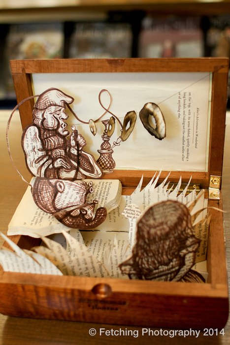 Tiny Book Dioramas Made by Adults | ciberpocket | Scoop.it