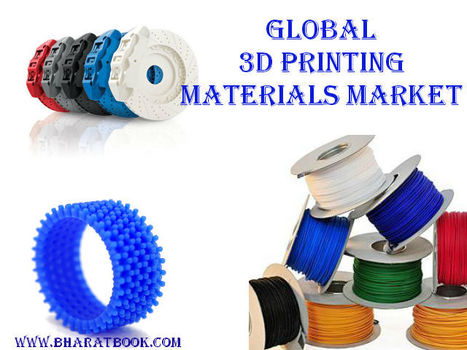 Global 3D Printing Materials Market 2016-2020 - Bharat Book Bureau   Energy-Resources and Automation - manufacturing construction   Scoop.it