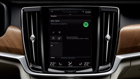 Volvo puts Spotify behind the wheel | Innovation | Scoop.it